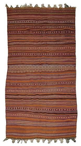 Handwoven rug,