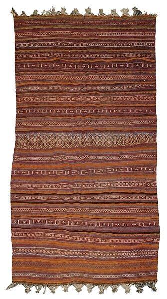 615: Handwoven rug,