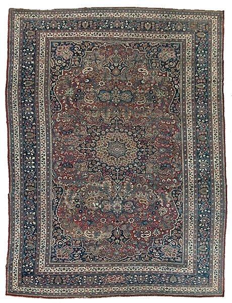 618: Persian rug,