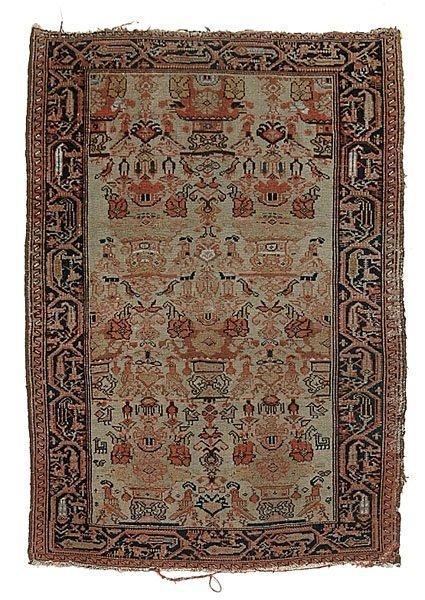 619: Malayer rug,