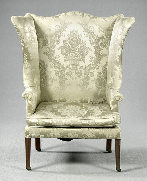 709: Wing chair,