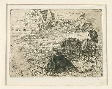 833: Etching by Whistler,