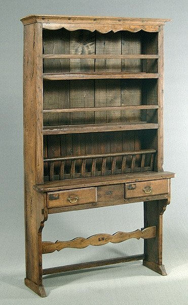 606: 19th century style cupboard,