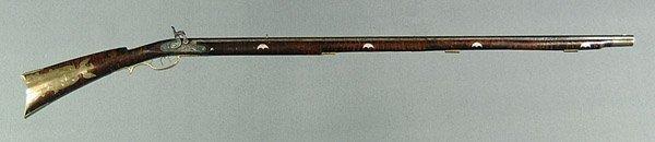 614: Muzzle-loading percussion rifle,