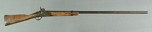 615: Half-stock percussion musket,