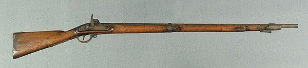 618: Iron-mounted percussion musket,