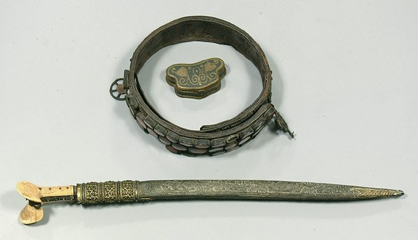 0618C: Ornate middle eastern sword,