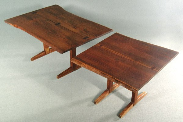 758: George Nakashima dining table,