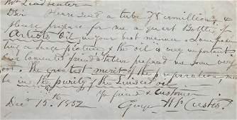 181 George Washington Custis letters