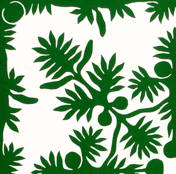 610: Appliquéd quilt,