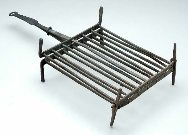 620: Adjustable footed gridiron,