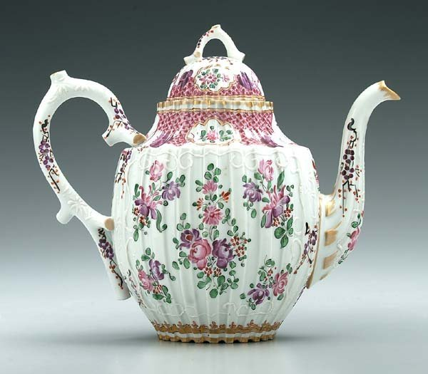 4: Samson porcelain teapot,