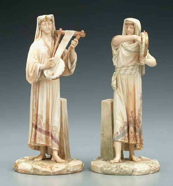13: Two Royal Worcester figurines: