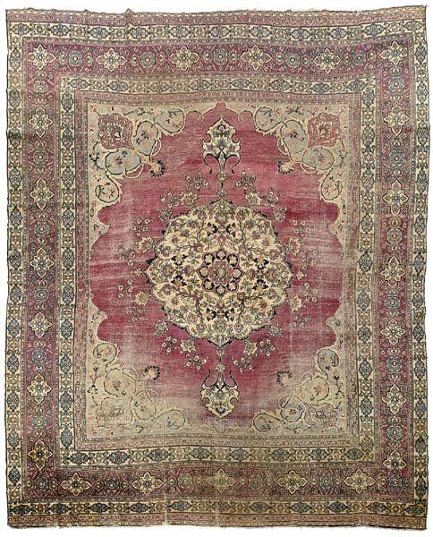 141: Persian rug,