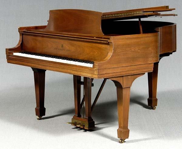 261: Steinway grand piano,