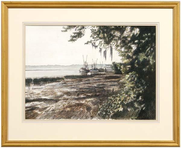415: W. Jackson Causey watercolor