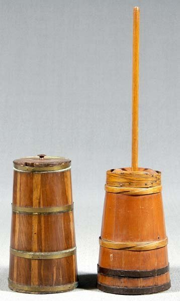 614: Two churns: