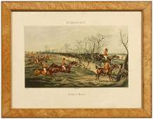 Six Currier & Ives Alken prints