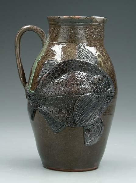 5: Albert Hodge fish pitcher,