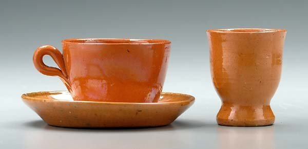 14: 22 pieces Jugtown pottery: