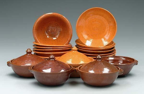 16: Ben Owen and Jugtown pottery: