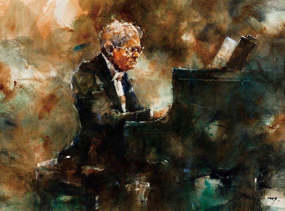 PEN TZU-CHIANG, Humpbacked Pianist