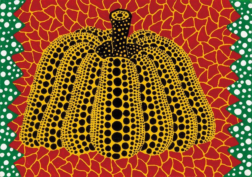 YAYOI KUSAMA, Pumpkin
