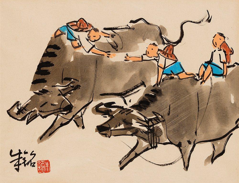 JU MING, Cowboy Sketch