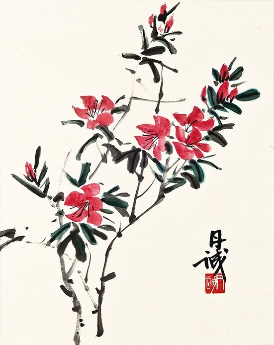 CHEN DANCHENG, FLOWER