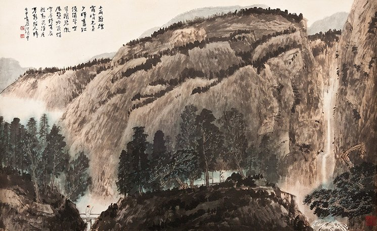 JIANG ZHAOSHEN, TRAVELLING ALONE IN THE COUNTRY