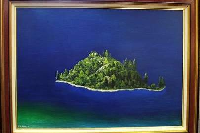 G. H. Rothe - Emerald Bay, Lake Tahoe - OIL
