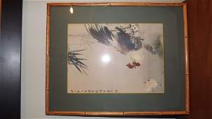 ANTIQUE CHINESE PAINTING绢本原装