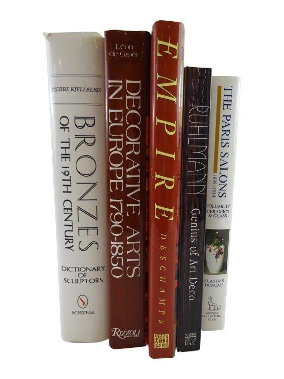 5 ART REFERNCE BOOKS