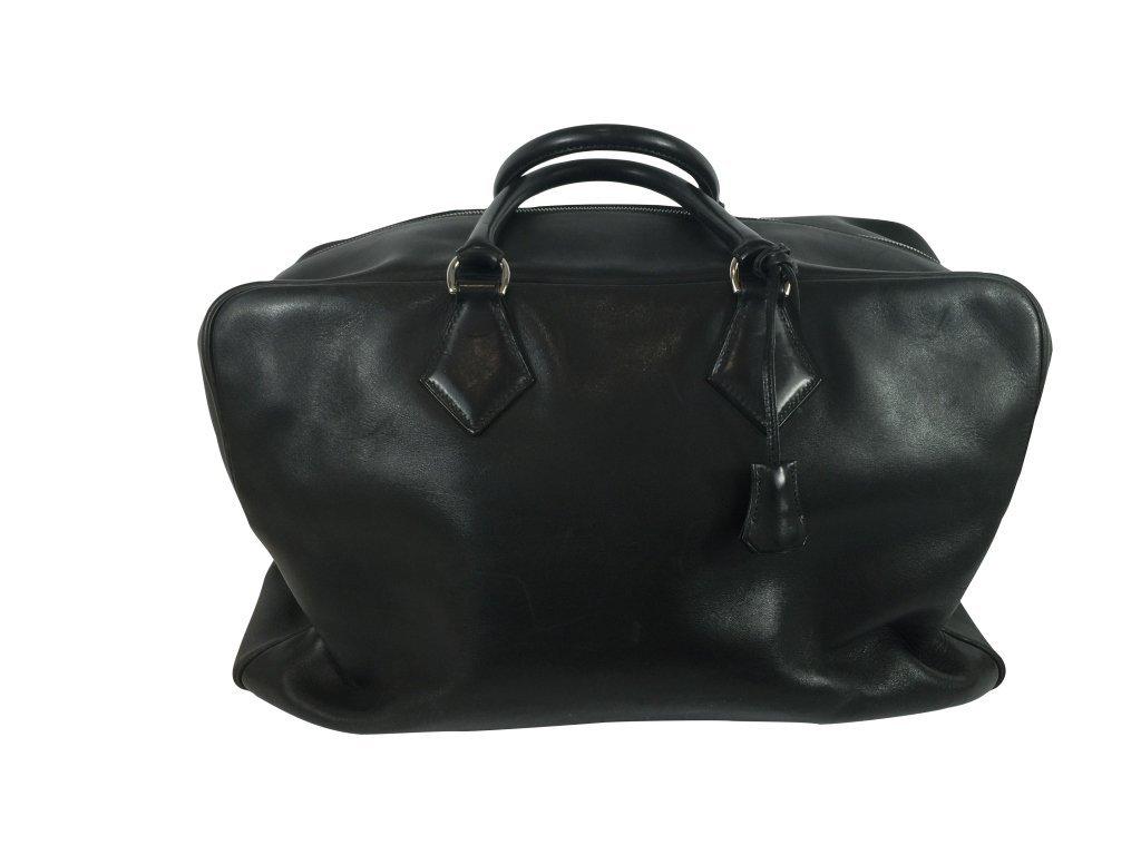 Hermes Victoria 50cm In Black