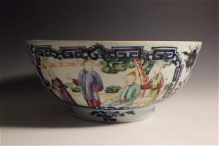 18th C Chinese Export Famille Rose Bowl