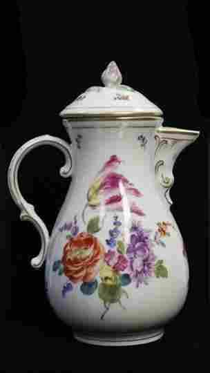 19th Century Vienna Porcelain Teapot