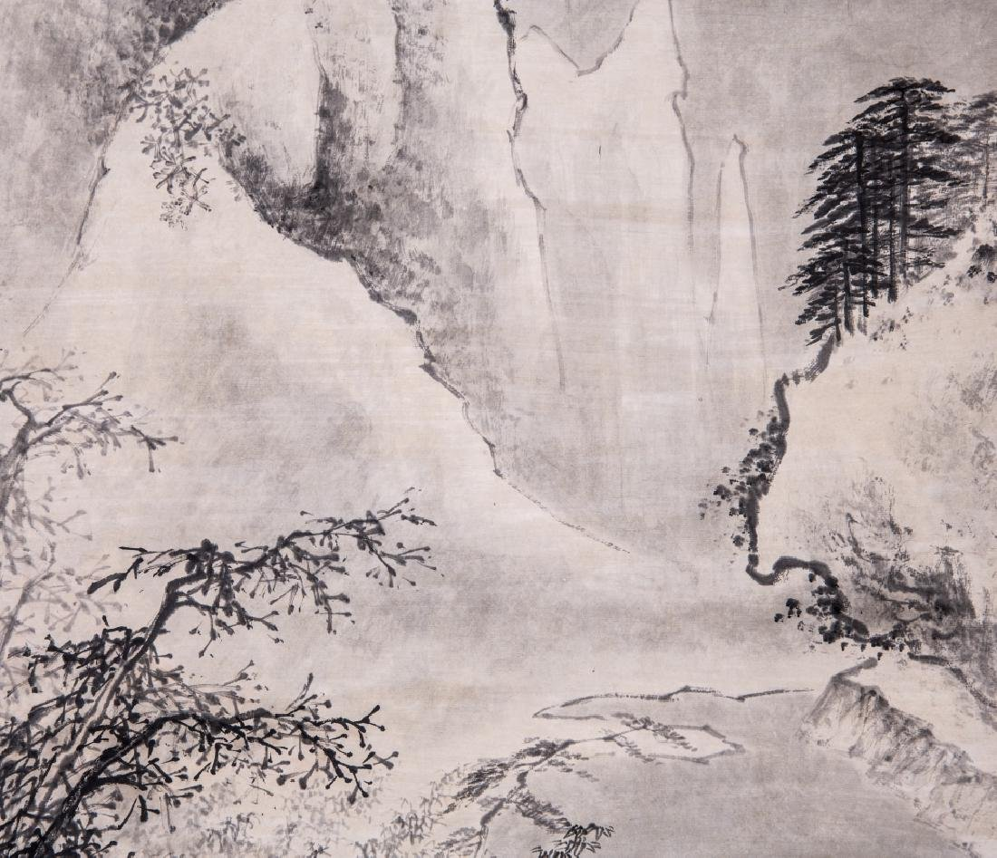 Chinese Ink Color Landscape Painting ,Signed - 4
