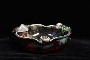 A Japanese Porcelain Tray