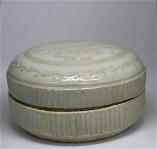 Chinese Porcelain Round Box