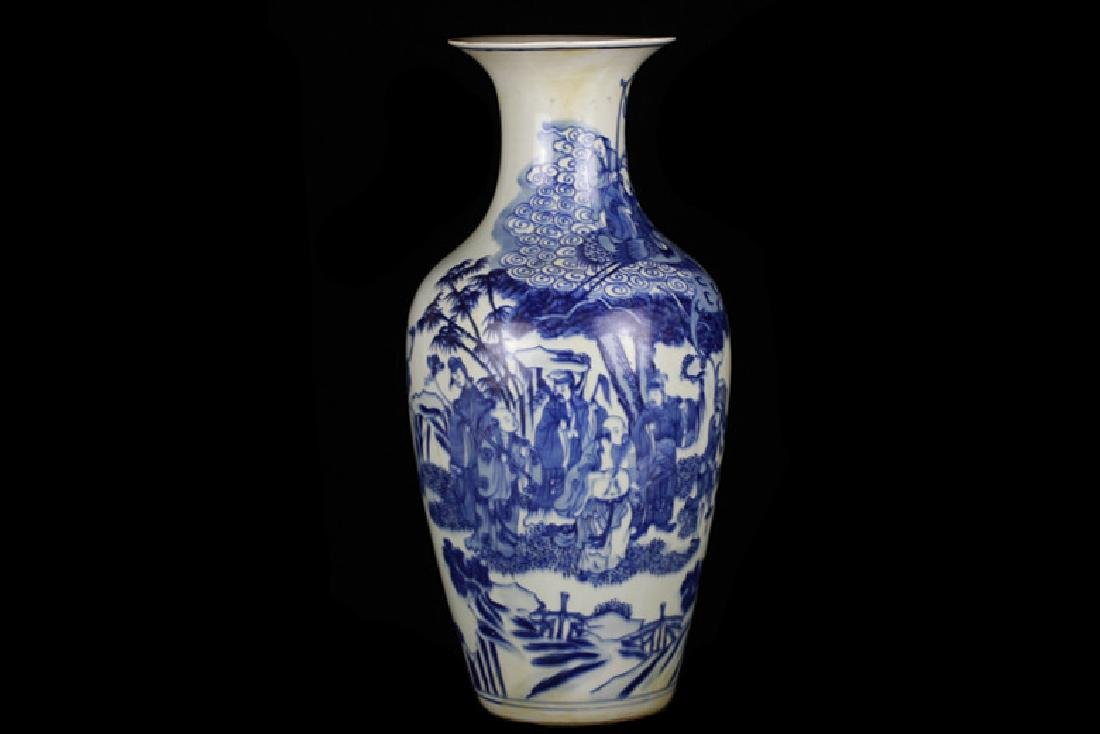 19th/18th Century Chinese Blue and White Vase