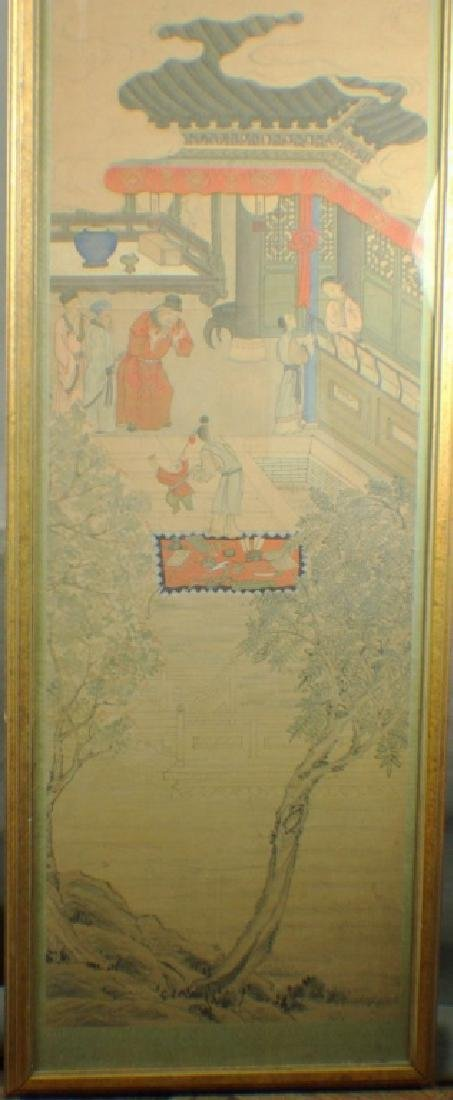 A Qing Dynasty Chinese Painting