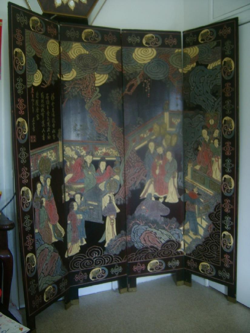 A KangXi Period KuanCai Screen
