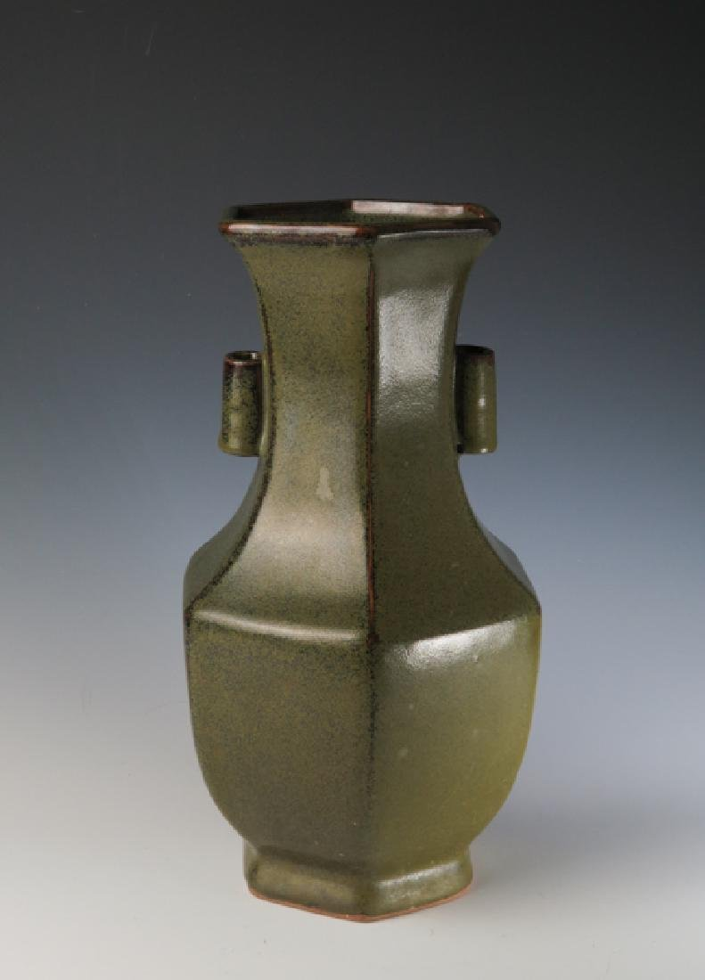 Chinese teadust Glazed Vase