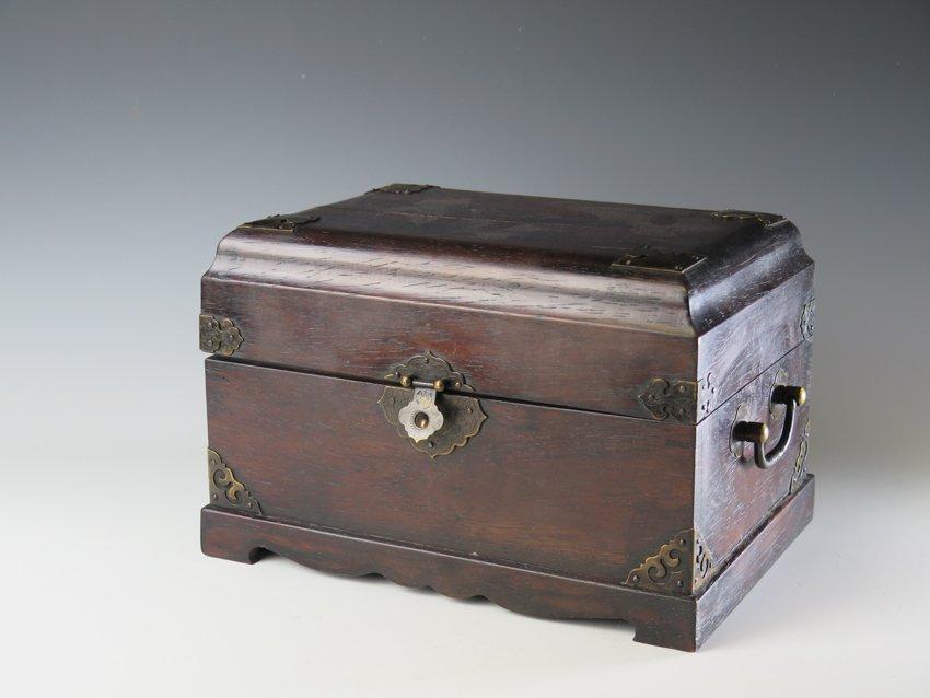 Rosewood jewellery box