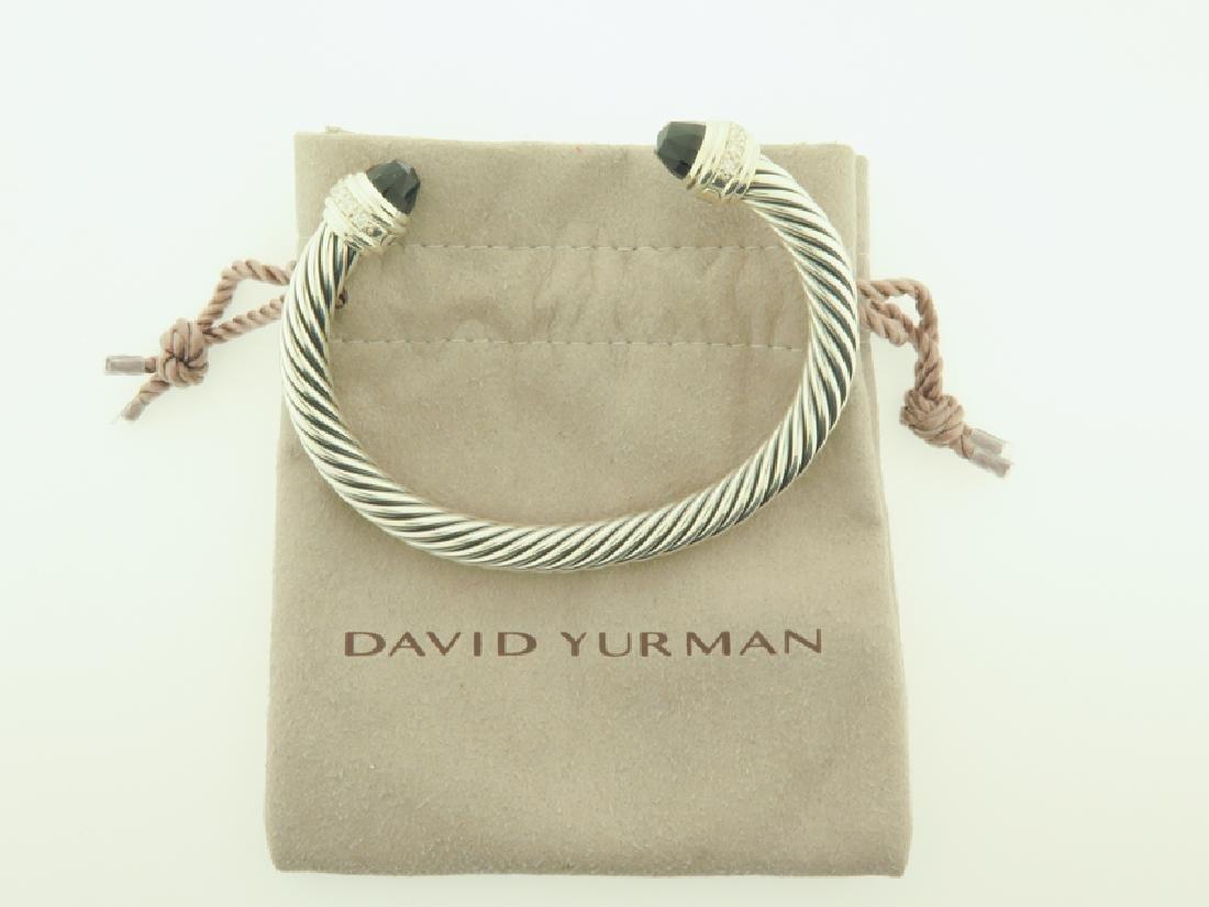 david yurman serling bracelet w/ diamonds
