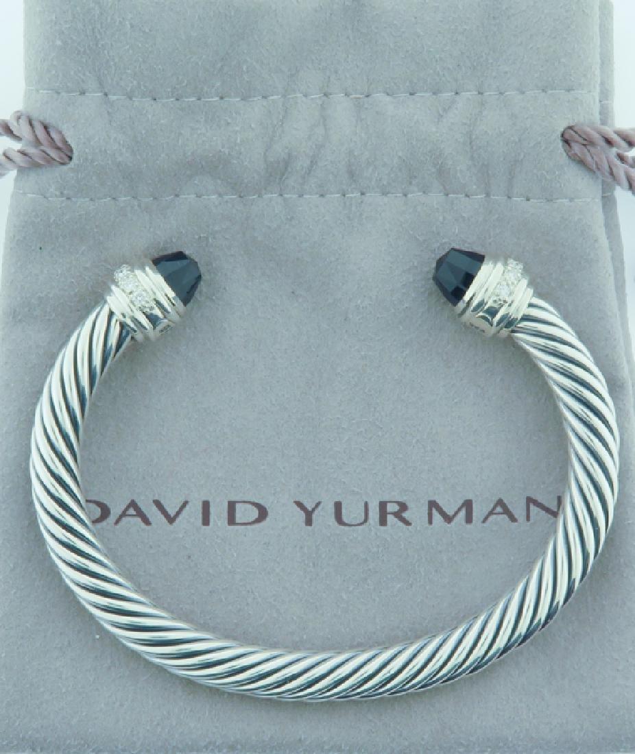 david yurman serling bracelet w/ diamonds - 2
