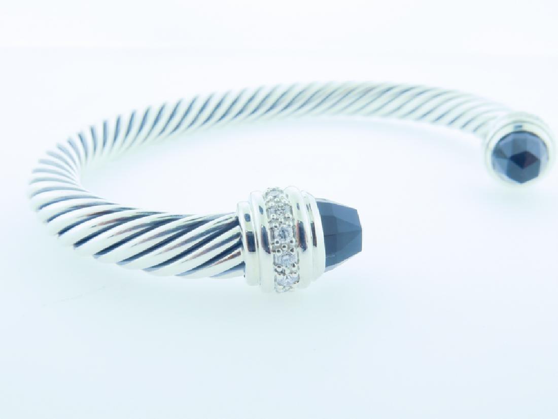 david yurman serling bracelet w/ diamonds - 4