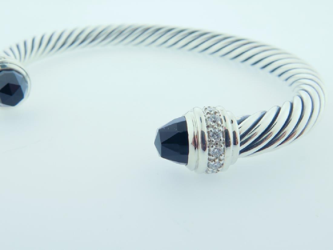 david yurman serling bracelet w/ diamonds - 6