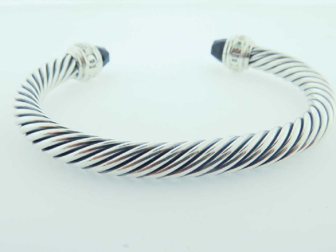 david yurman serling bracelet w/ diamonds - 7