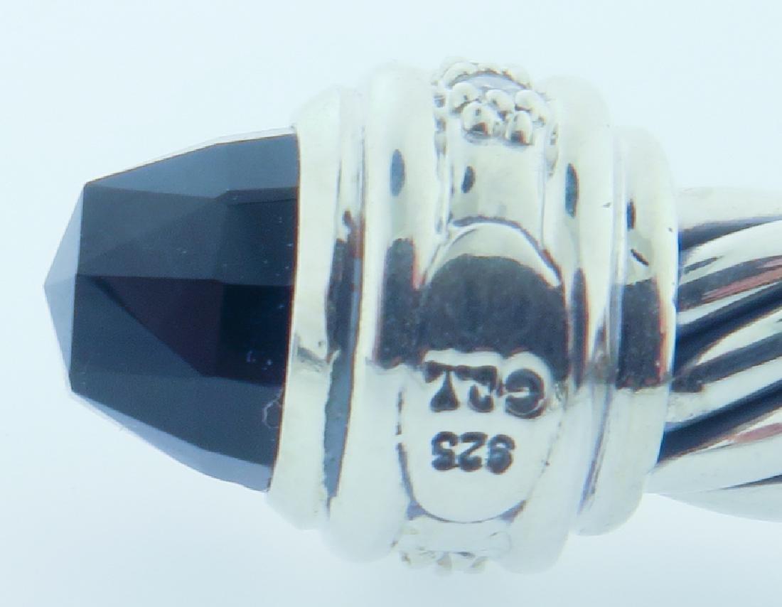 david yurman serling bracelet w/ diamonds - 8
